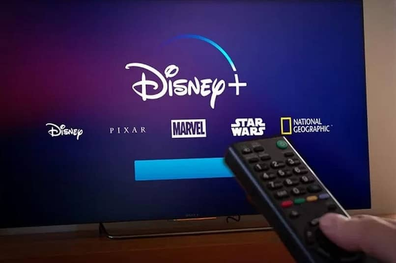 TV pantalla Disney +