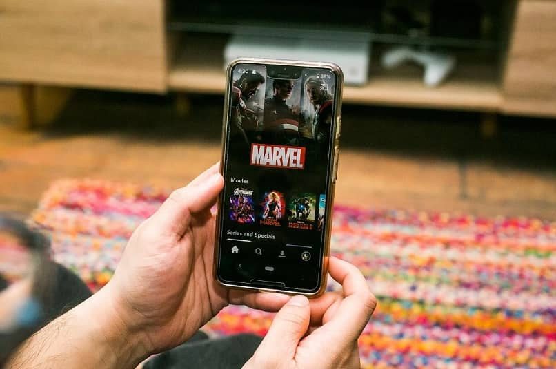 disney plus celular marvel