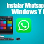 pc logo windows whatsapp fondo azul