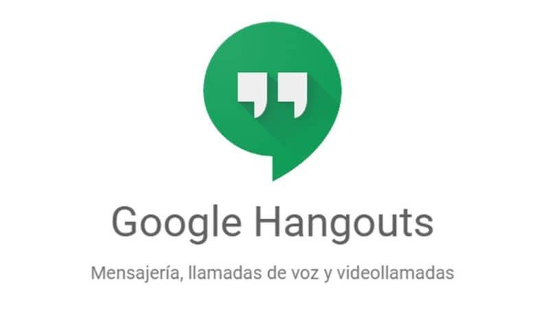 icono gogle hangouts fondo blanco
