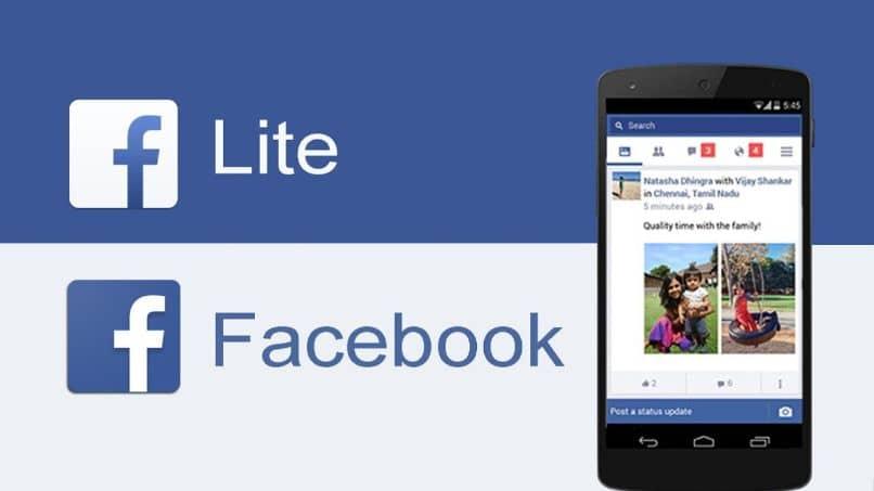 facebook lite aplicacion celular