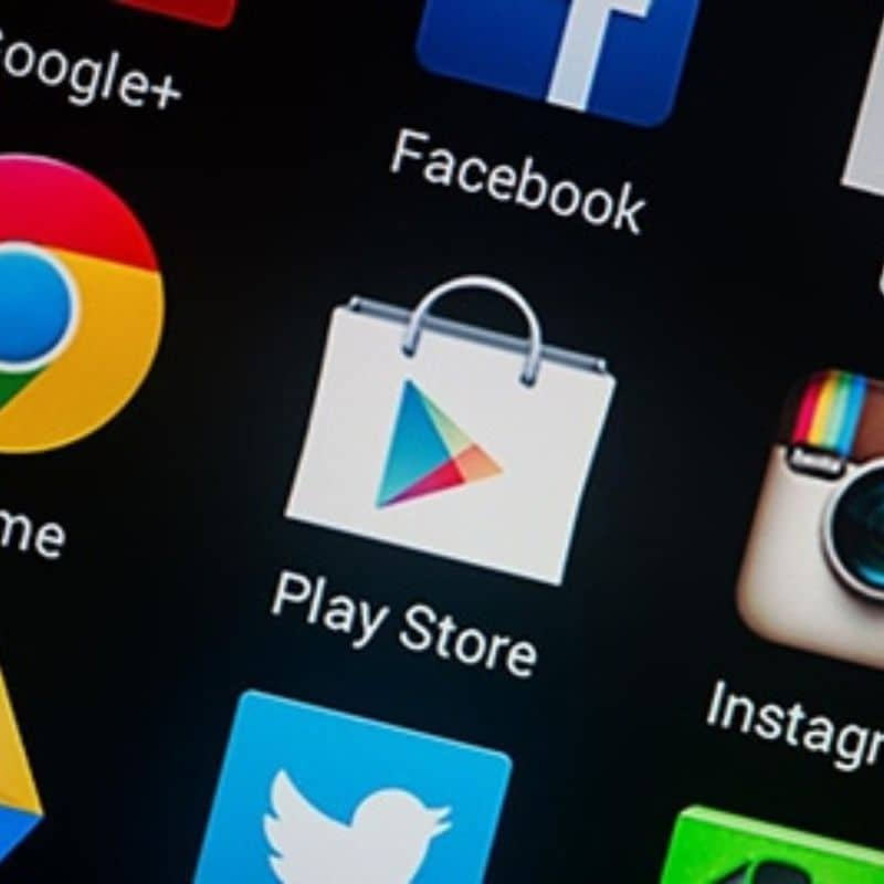 App Play Store en telefono Android