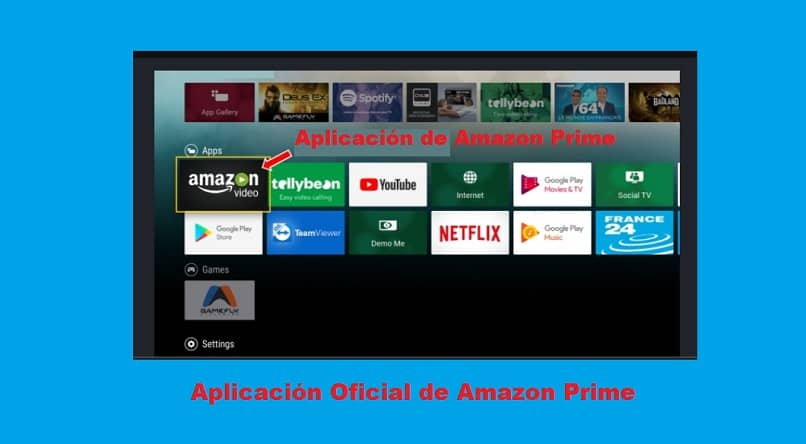 Descargando Amazon Prime Video en una Smart TV