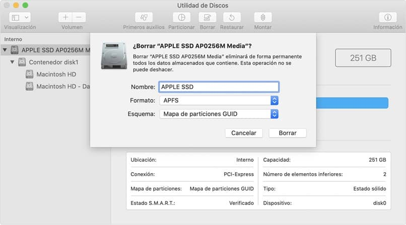 datos disco duro mac