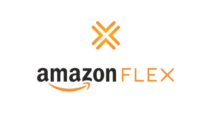 Logo Amazon Flex fondo blanco