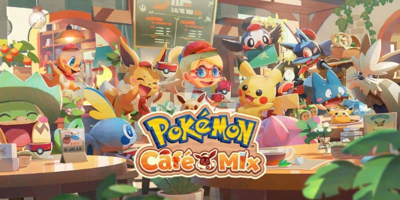 Pokemon Cafe Mix