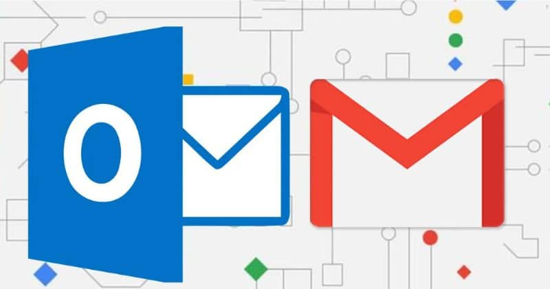Logo Gmail y Outlook