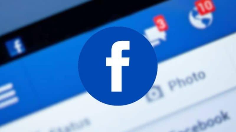Pantalla Facebook , notificaciones