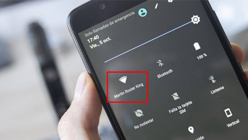 Redes WiFi android