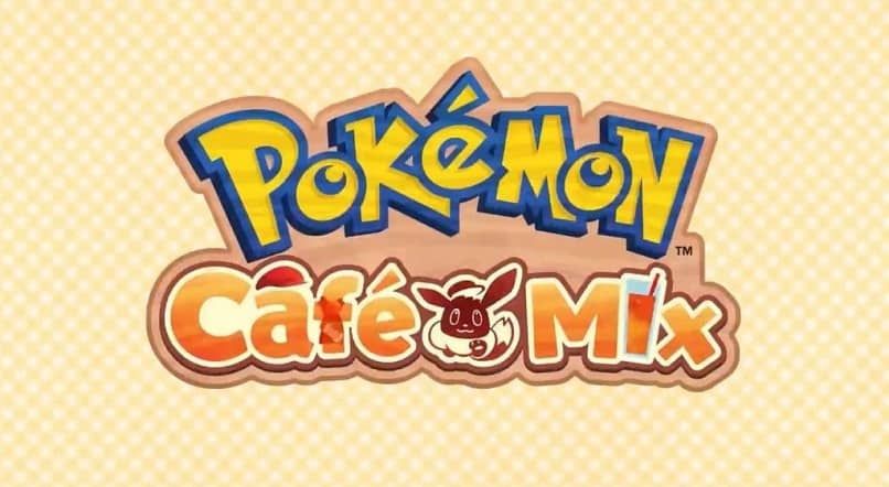 El logo de Pokemon Café Mix