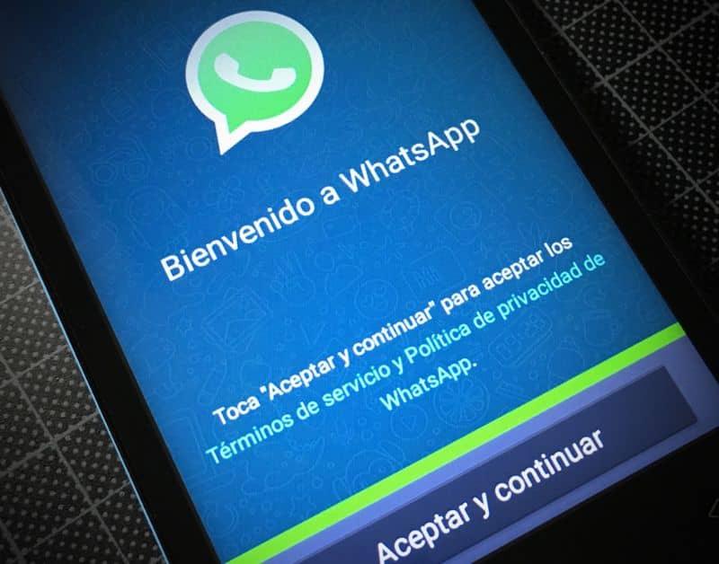 WhatsApp país extranjero