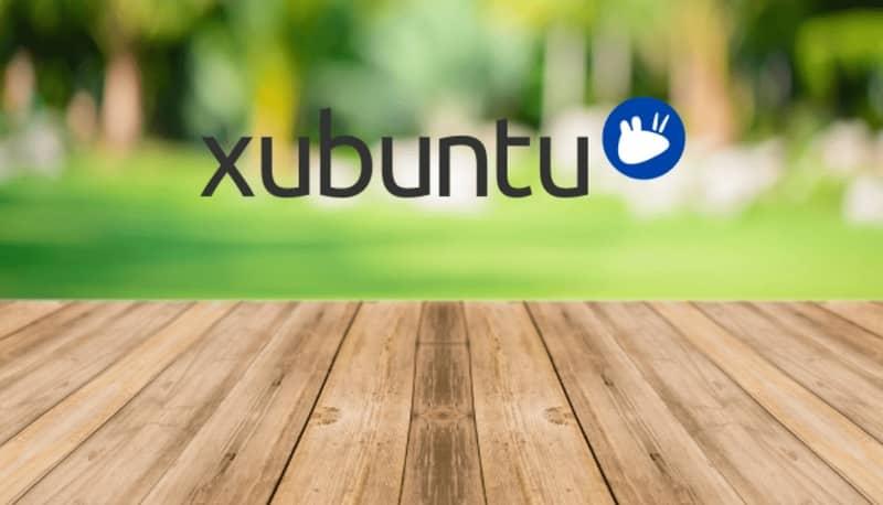 Fondo de madera, Xubuntu
