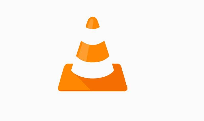 logo e icono de VLC Media Player fondo blanco