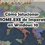 solucionar error rome exe imperator rome windows