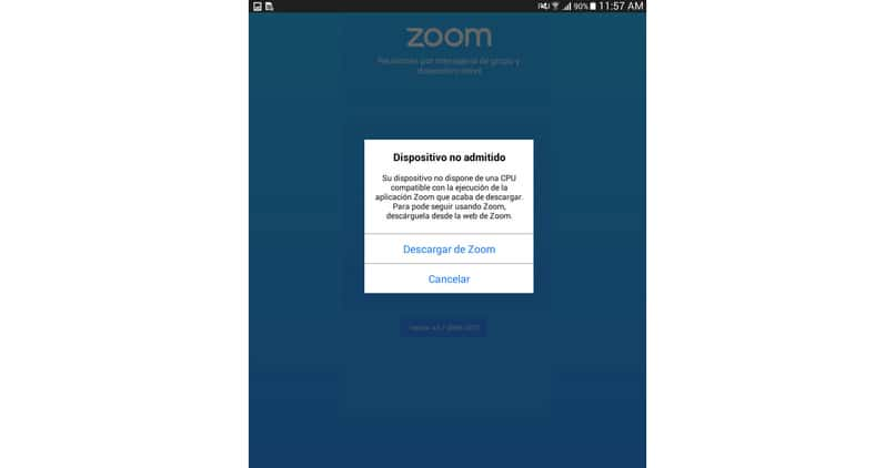 hacer copatible movil todas apps zoom incompatible